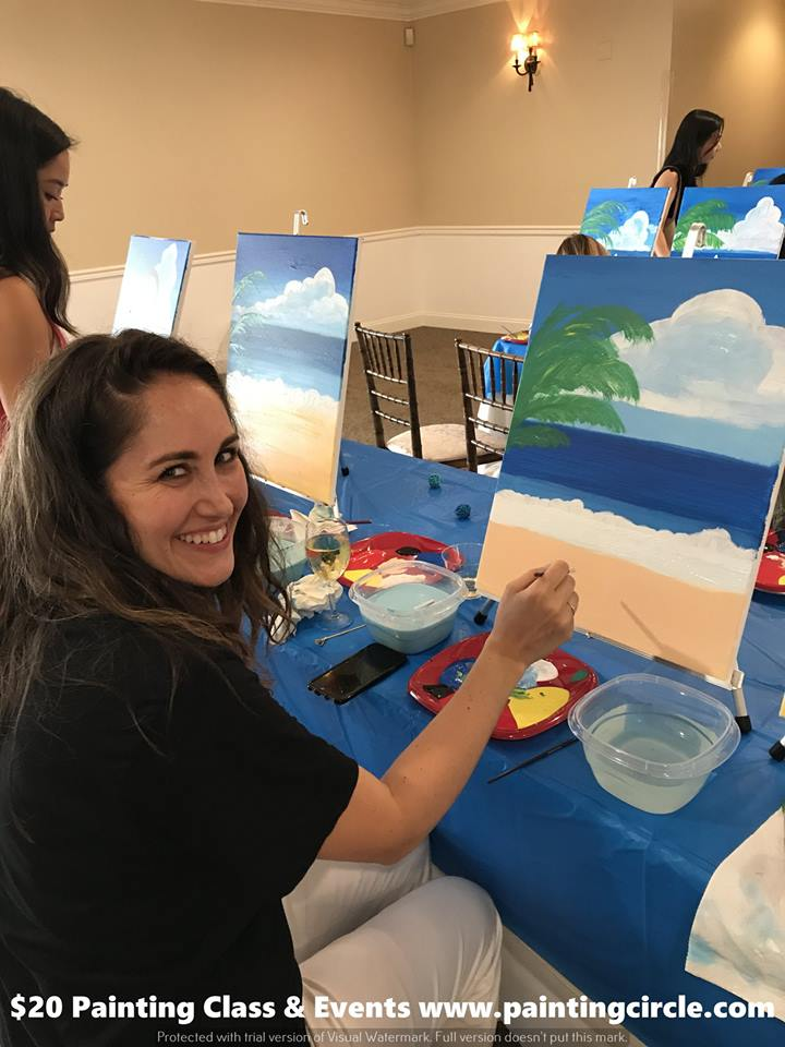 Discounted Private Painting Classes In San Francisco California For Birthday Parties And Company Events
